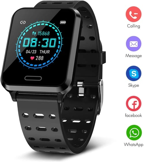 Review Newatch Touch Screen Fitness Tracker Smart Watch