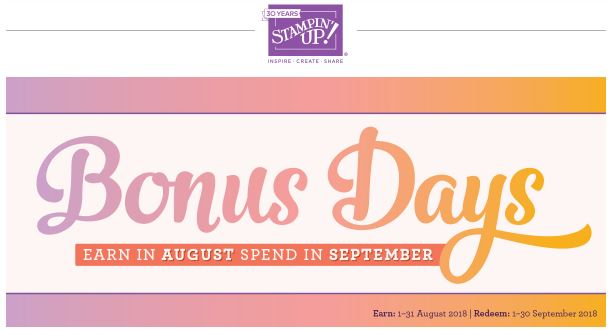HOW TO REDEEM YOUR BONUS DAY COUPONS