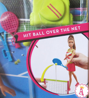 Кукла барби теннисистка
