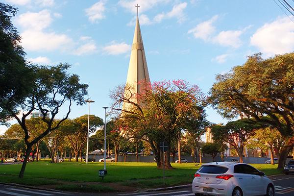 Catedral de Maringá – Foto: Luiz Fernando Cardoso/Arquivo