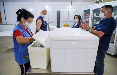 Porto Velho atinge a marca de 100 mil vacinados com a primeira dose contra a Covid-19