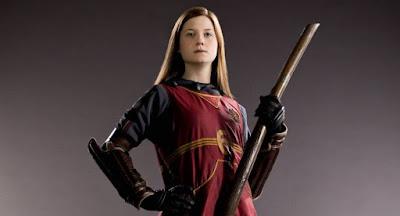 Bonnie Wright as Ginny Weasley