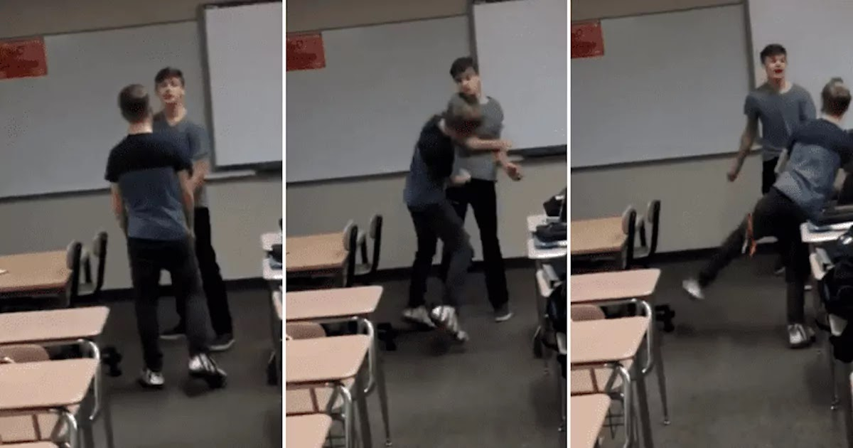 Gay Teen Fights Back Against Homophobic Classmate And Is Hailed A Hero On Twitter