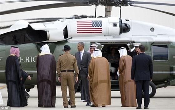 استقبال الرئيس الأمريكي