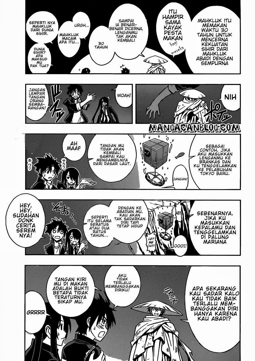 Baca Manga UQ Holder! Chapter 8 Bahasa Indonesia