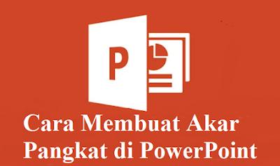 Cara Membuat Akar Pangkat di PowerPoint