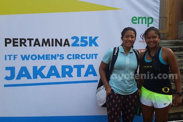 Final Kualifikasi Turnamen Tenis Pertamina 25K ITF Women's Circuit: Rifanty Kahfiani Paksa Unggulan Pertama Bertarung Tiga Set