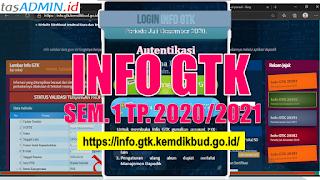 Cek dan Cetak Info GTK 2020