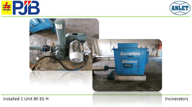 Root Blower untuk fly ash abu batubara