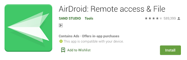 AirDroid supports transferring all kinds of files in different platforms - androidepic.com