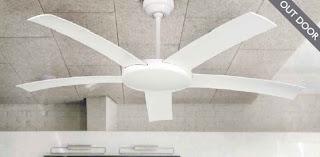 ventilador exterior, ventilador 5 palas, ventilador hosteleria, ventilador de techo