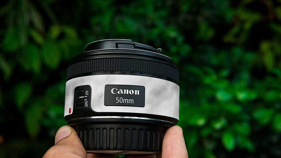 Canon 50mm lens at lowest price on flipkart