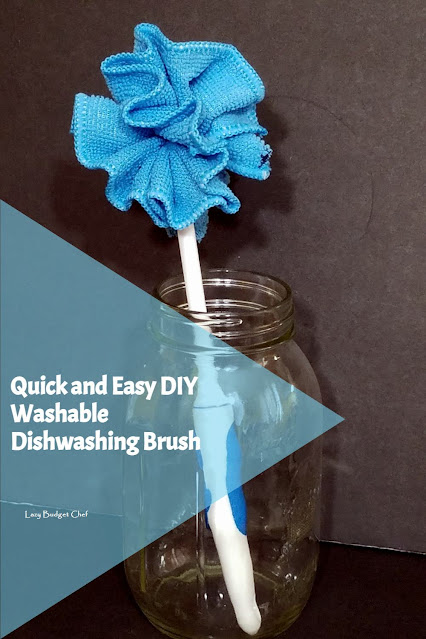 How to Make a Reusable Cleaning Scrub Brush for Pots, Pans, and Bottles