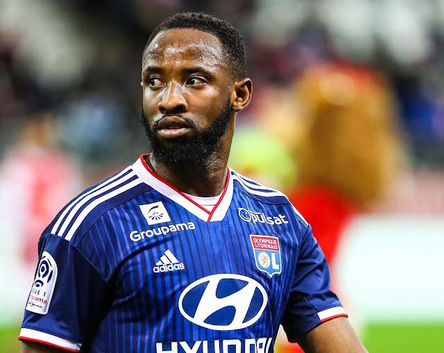 Lyon striker, Dembele agrees £90million Manchester United move