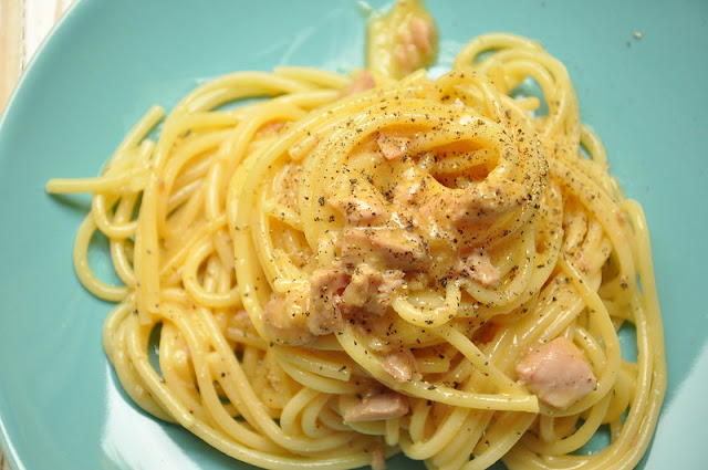 Tuna Carbonara Pasta: Thermomix Recipe