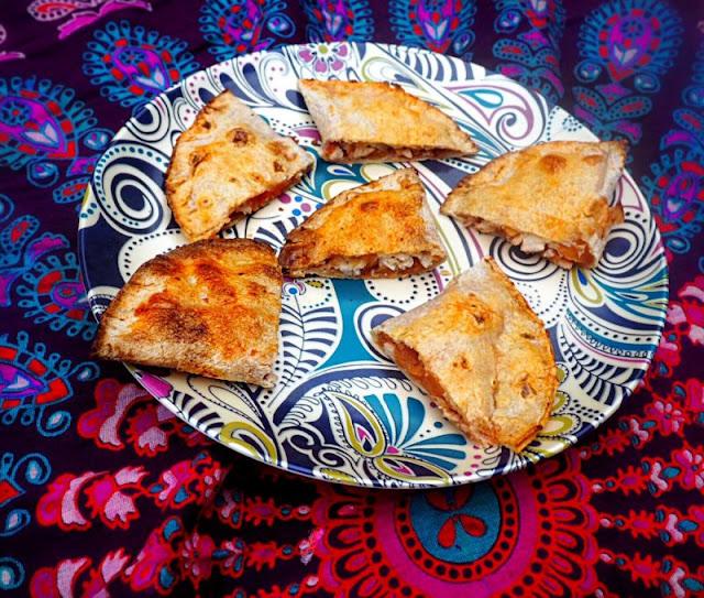 Gluten free mini calzone