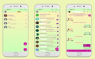 Colorful 94 Theme For YOWhatsApp & Aero WhatsApp By Leidiane