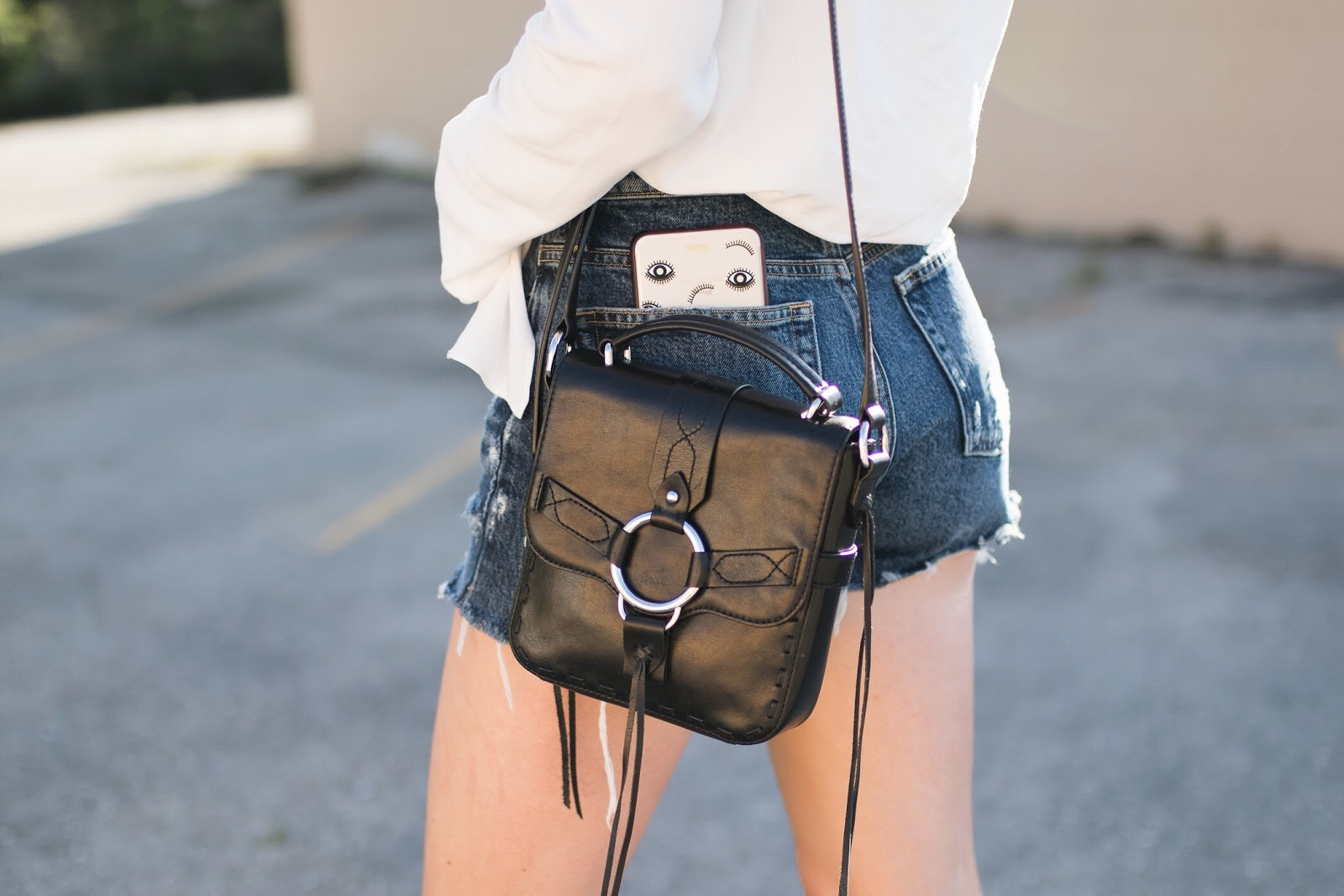 "Rebecca Minkoff ""darling"" cross-body bag"