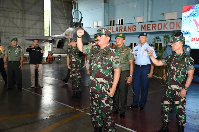 Panglima TNI : Prajurit TNI dan Polri Perekat Persatuan dan Kesatuan