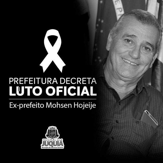 Nota de Falecimento : ex-prefeito de Juquiá Merce Mohsen Hojeije