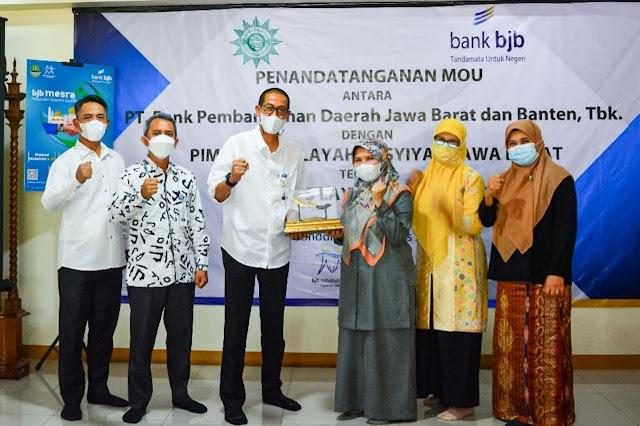 Dorong Kesejahteraan Warga, bank bjb Jalin Kerja Sama Dengan Aisyiyah Jawa Barat