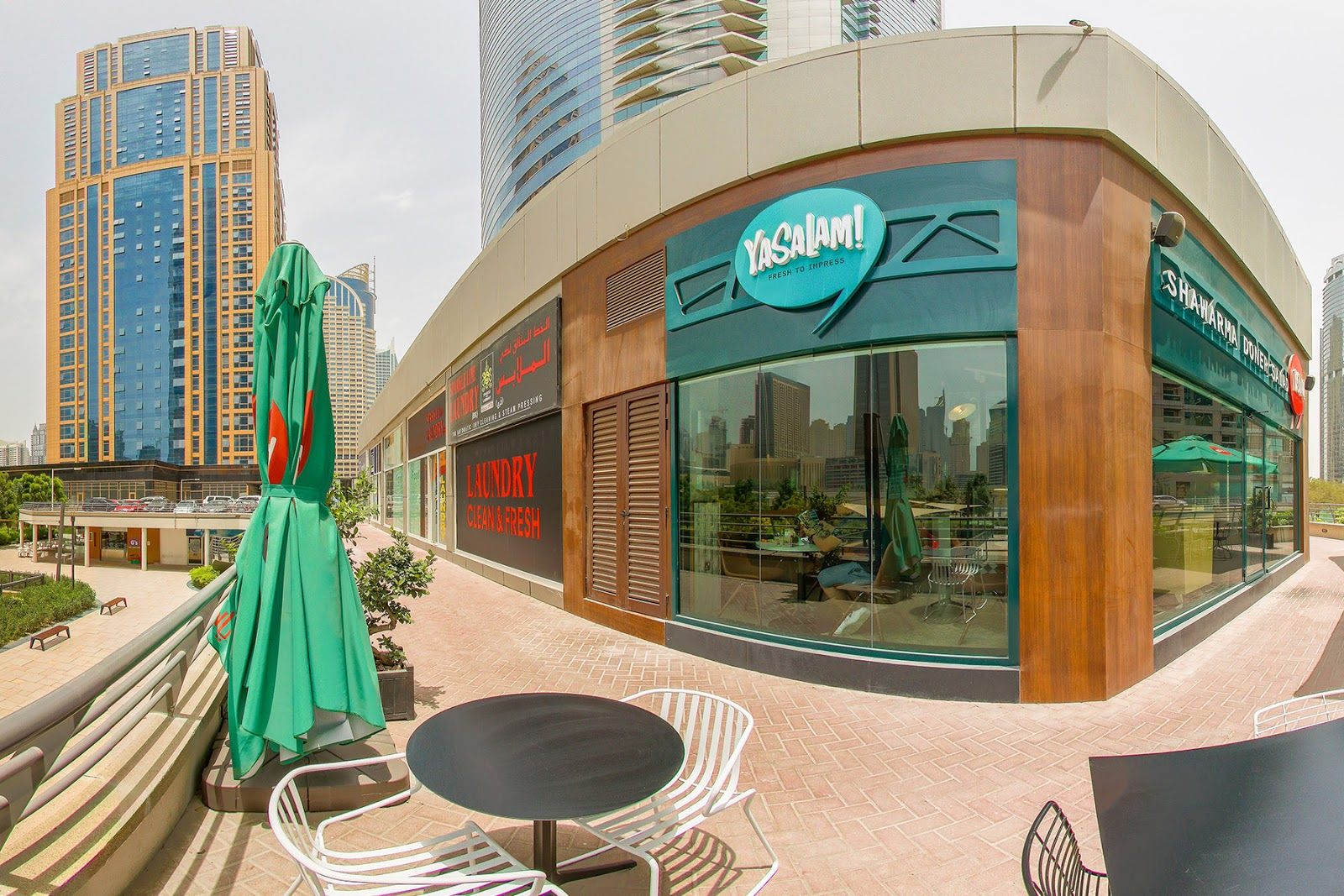shawarma and doner wraps in JLT