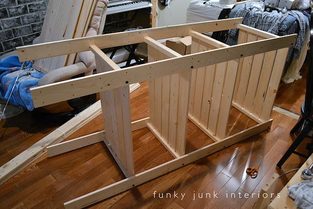 An easy to assemble shelving kit you will adore! Ikea GORM, I love you. And 3 ways I've used it in my home. via Funky Junk Interiors