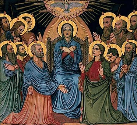 Catholic Roman Urdu Prayers: The Church and the Mystery of Pentecost