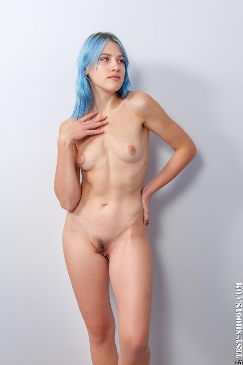 [Test-Shoot.Com] Kira Azul - Alternative Music Lover In Nude Casting - idols