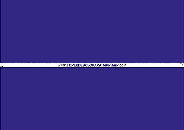 faixa lateral azul escuro