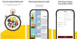 Aplikasi penghasil uang dana tanpa Top Up