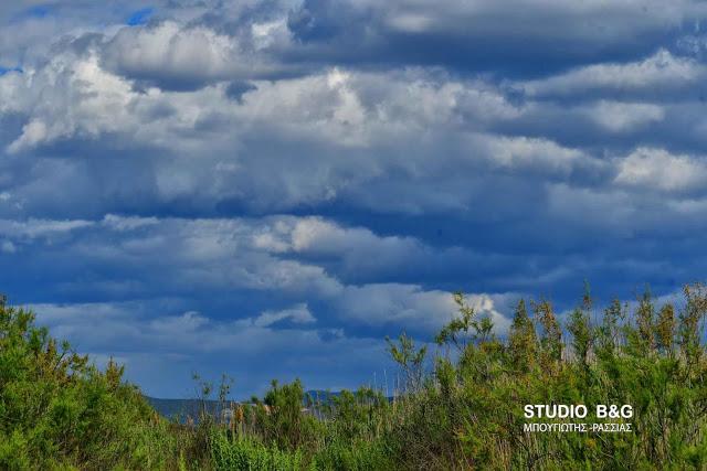 Πρόσκαιρες βροχές και στην Πελοπόννησο την Κυριακή