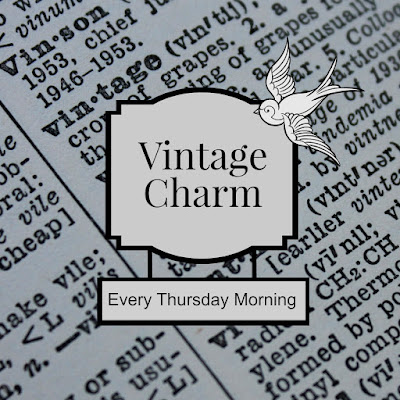 Friday's Find: Skip the Crowds & Browse Charming Mason mythriftstoreaddiction.blogspot.com Vintage Charm party reminder