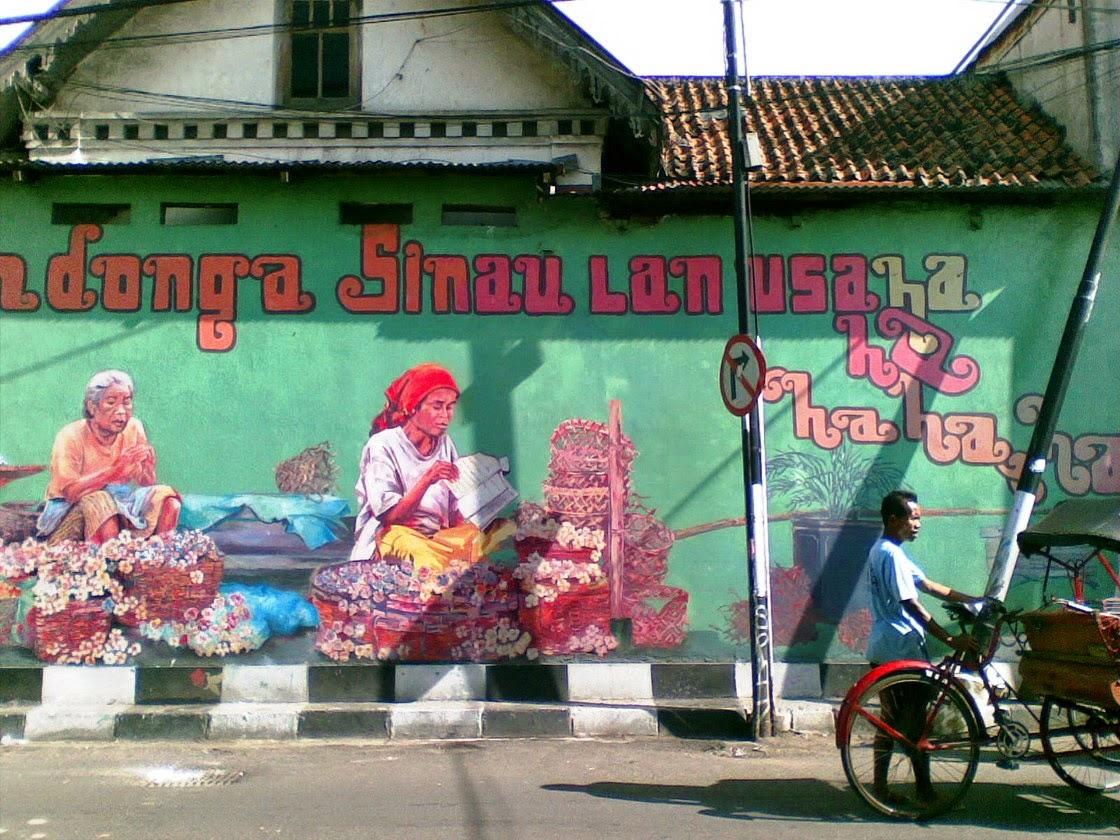 Melawan lewat mural for Mural yogyakarta