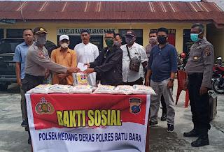 Polsek Medang Deras Gelar Silaturahmi Dengan AJM