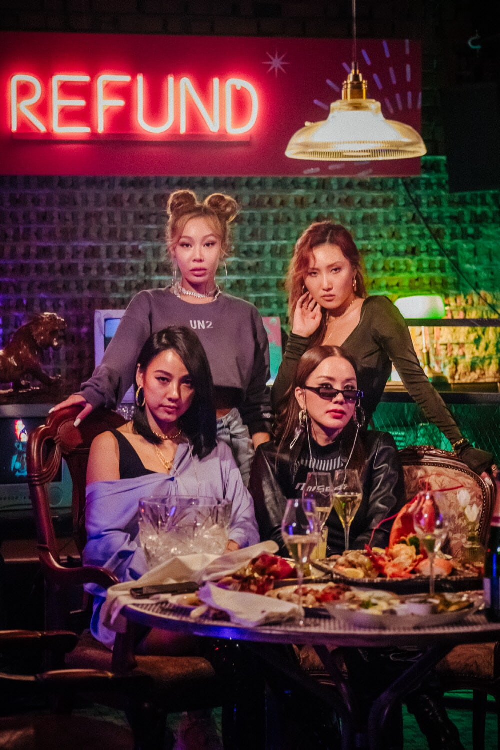 Lee Hyori, Uhm Jung Hwa, Jessi and Hwasa Full of Charisma in Refund Expedition Debut Teaser