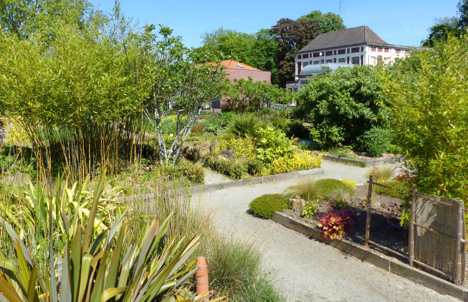 Jardin botanique, Tourcoing - Carrés pédagogiques