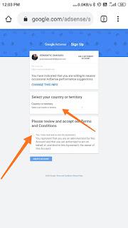 create google adsense account agar aap