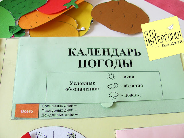 лэпбук Осень для детей