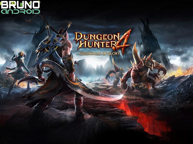 Dungeon Hunter 4 APK+OBB V2.0.0F