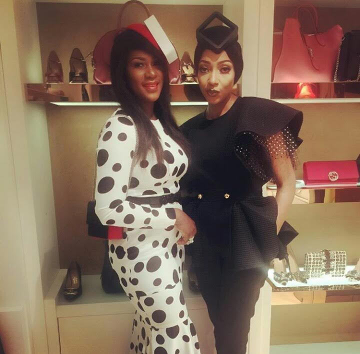 Stephanie Linus dazzles in gorgeous dress (what's she wearing on her head biko?)