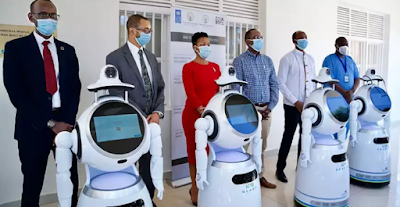Rwanda Lunch Robots That Can Screen Up To 150 COVID-19 Patients Per Minute