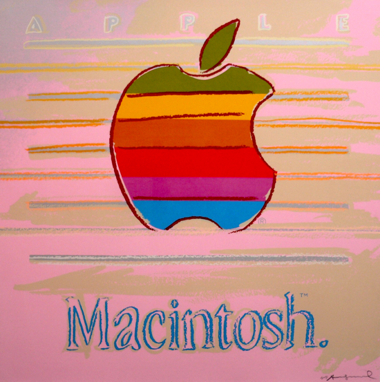 Apple (Macintosh) by Andy Warhol 1985