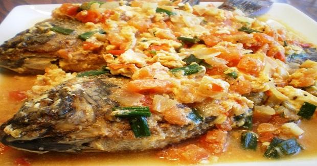 Sarciadong Tilapia (Fish Sarciado) Recipe