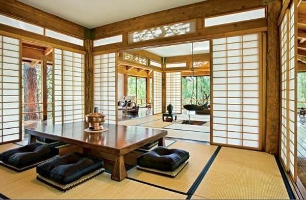 Model ruang tamu lesehan yang nyaman