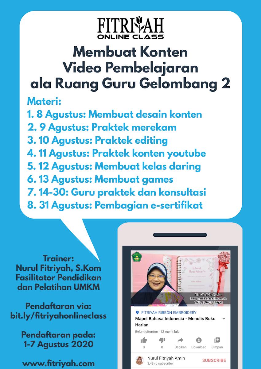 Cara Membuat Video Pembelajaran Ala Ruang Guru Gelombang 2