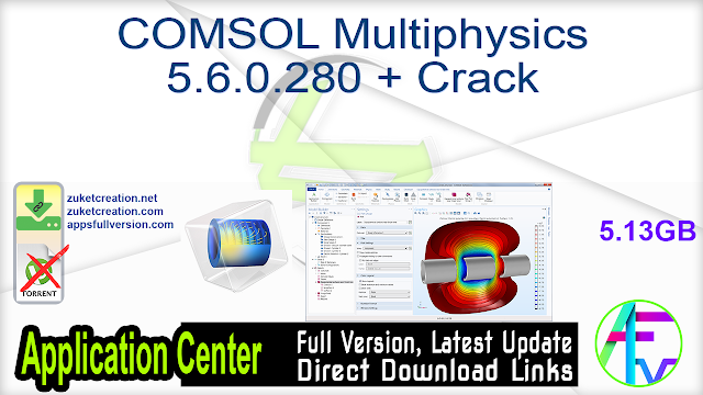 COMSOL Multiphysics 5.6.0.280 + Crack
