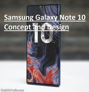 Samsung Galaxy Note 10 Concept and Design