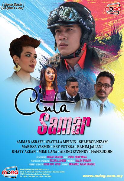 Drama Cinta Samar (2017) Slot Widuri TV1