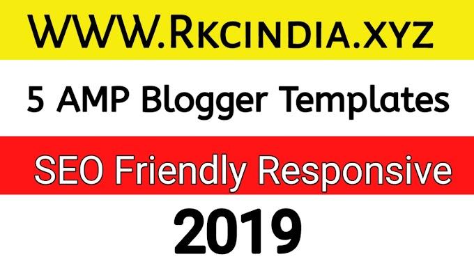 Blogger Templates | Free Blogger Templates Download 2019 - RKC INDIA